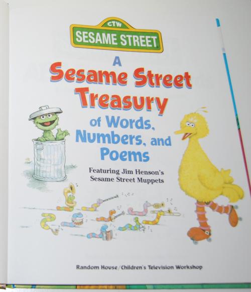 A sesame street treasury 3
