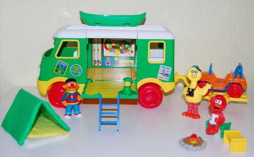 Sesame street camper 5