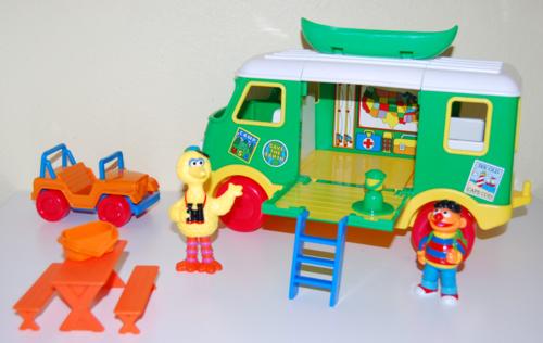 Sesame street camper 7