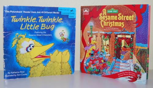 Sesame street books 4
