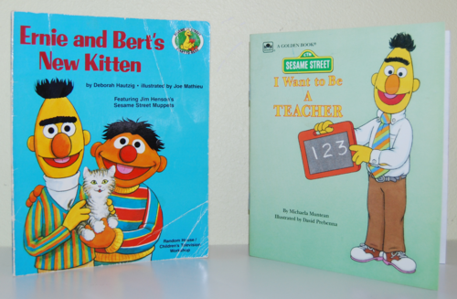 Sesame street books 5