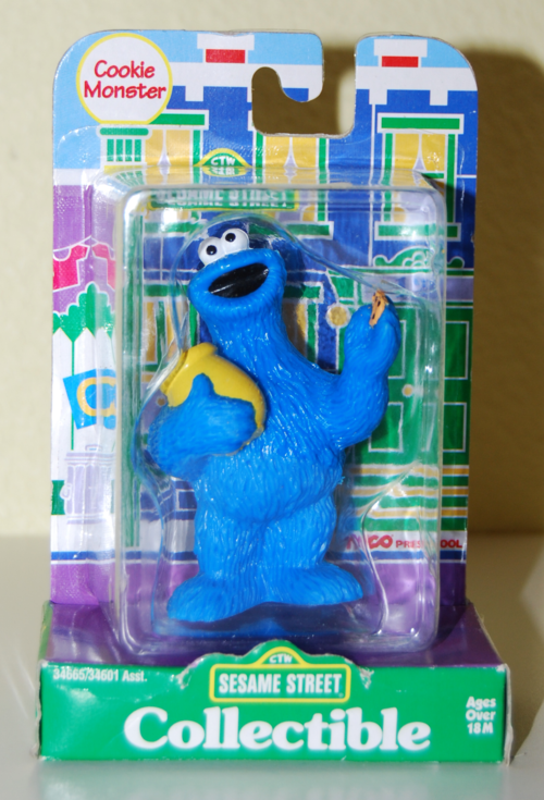 Tyco collectible figure cookie monster