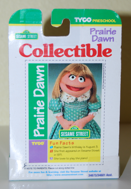 Tyco collectible figure prairie dawn x