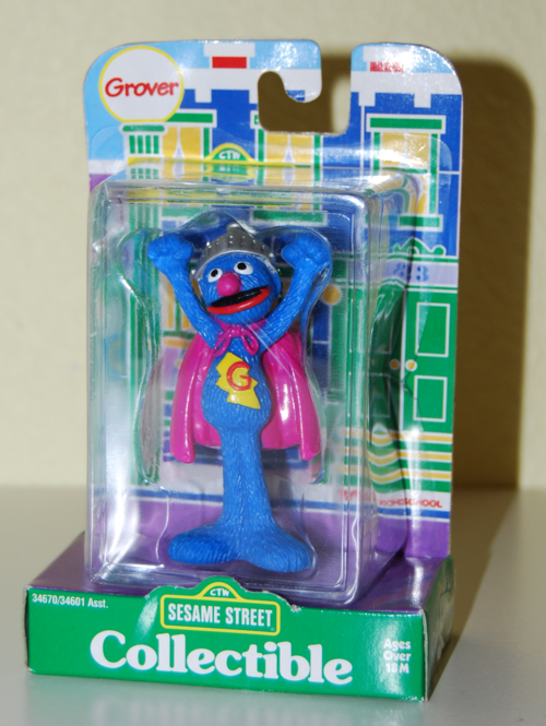 Tyco collectible figure grover