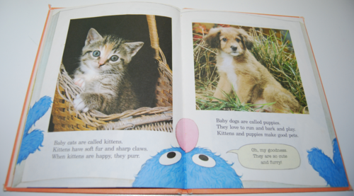 Grover's book of cute little baby animals 2