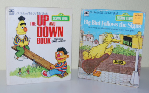 Sesame street books a