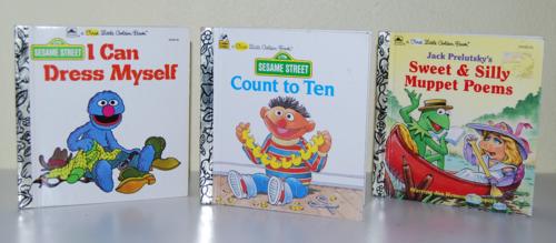 Sesame street books lgb