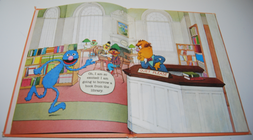 Grover's book of cute little baby animals 1