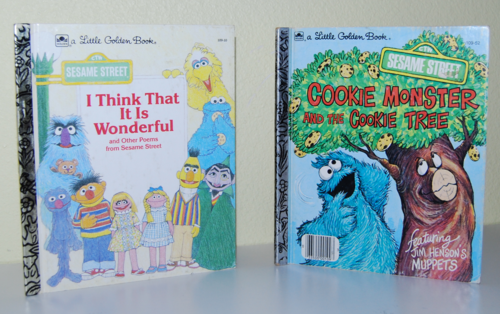 Sesame street books b