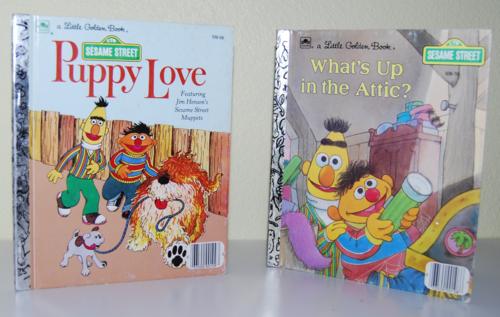 Sesame street books c