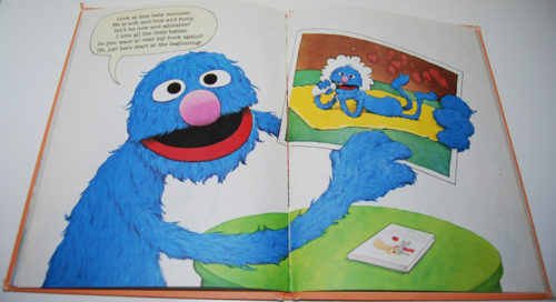 Grover's book of cute little baby animals 6