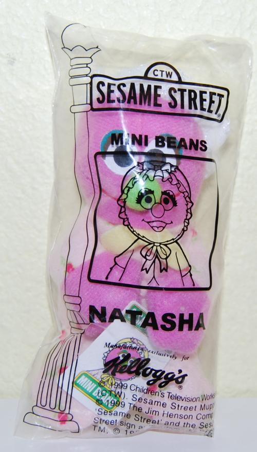 Sesame street mini beans natasha