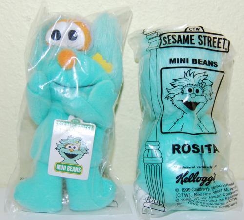 Sesame street mini beans rosita