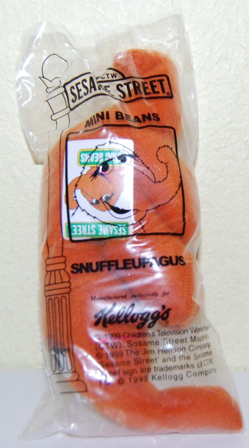 Sesame street mini beans snuffleupagus x