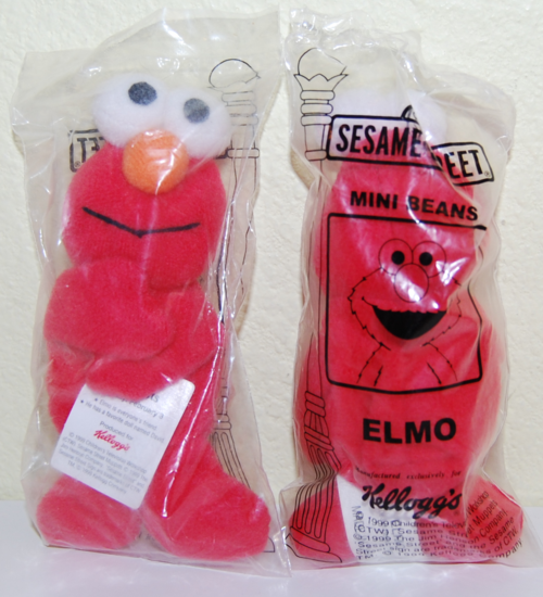 Sesame street mini beans elmo