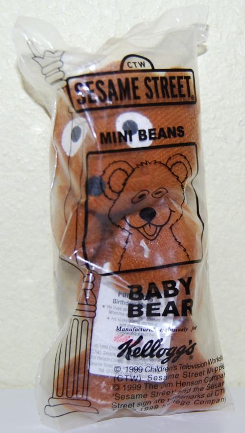 Sesame street mini beans baby bear