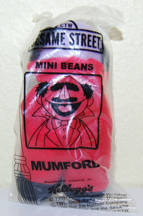 Sesame street mini beans mumford x