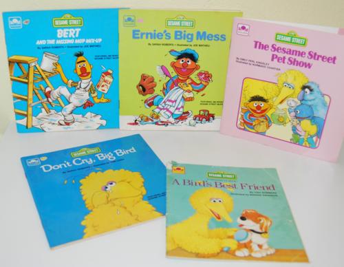 Sesame street books 6
