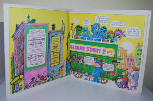 Sesame street 2 book & record 2