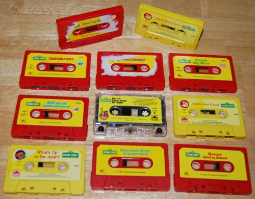 Sesame street book & cassette xs