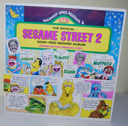 Sesame street 2 book & record