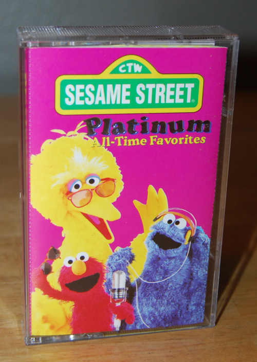 Sesame street all time platinum favorites tape 1995