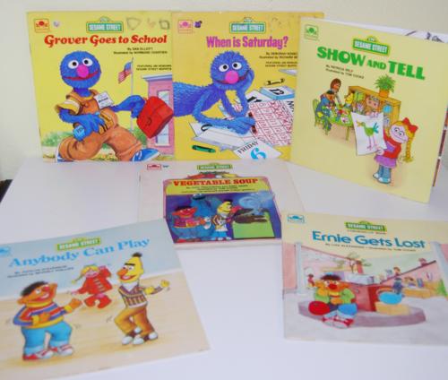 Sesame street books 7