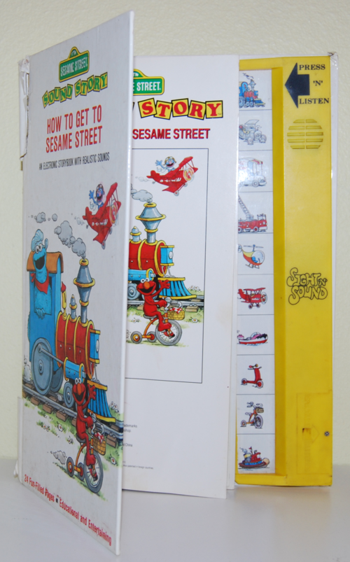 Sesame street books 1