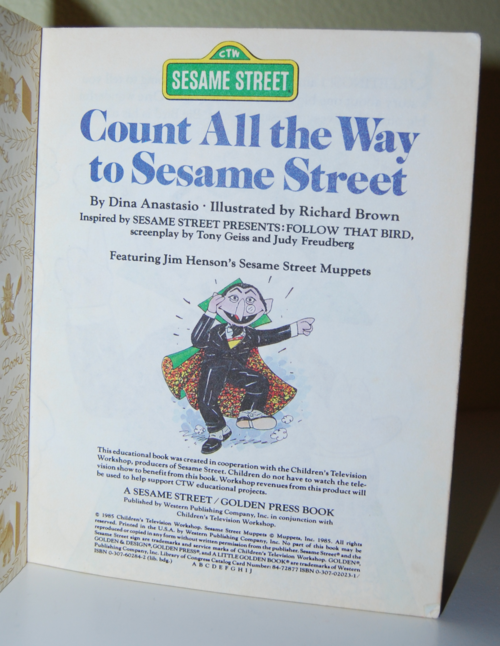 Count all the way to sesame street 1