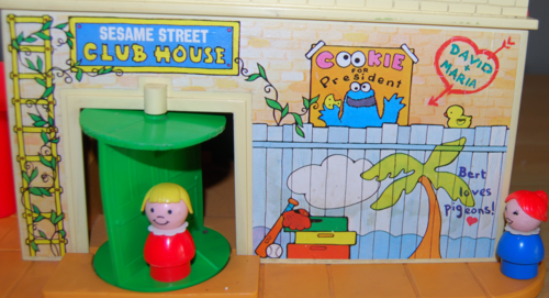 Fisher price sesame street clubhouse 4