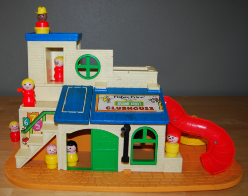 Fisher price sesame street clubhouse