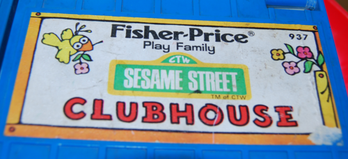 Fisher price sesame street clubhouse 1
