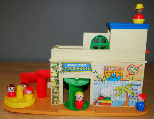 Fisher price sesame street clubhouse 3