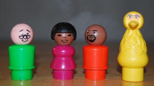 Sesame street fp little people