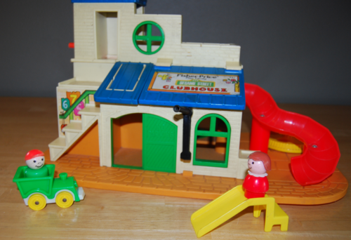 Fisher price sesame street clubhouse 7