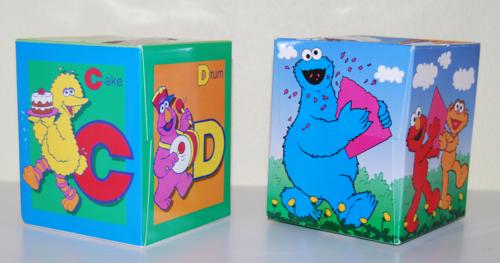 Sesame street kleenex boxes 1