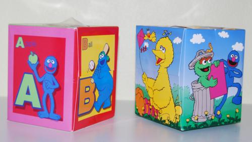 Sesame street kleenex boxes