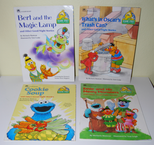 Sesame street golden books