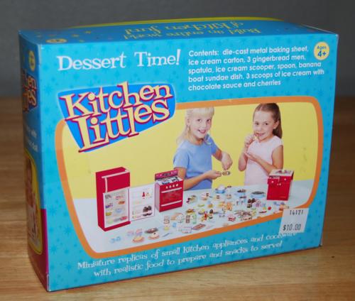 Kitchen littles dessert time x