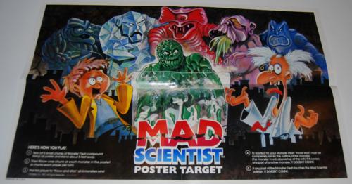Mad scientist monster lab target