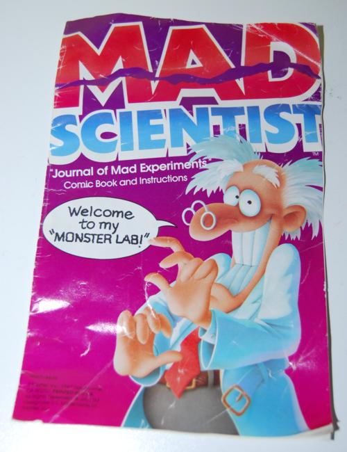 Mad scientist lab journal
