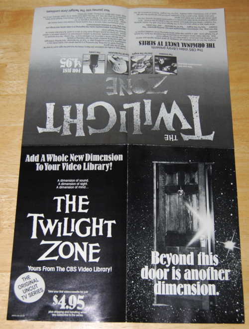 Twilight zone ad
