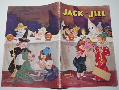 Jack & jill october 1951 x