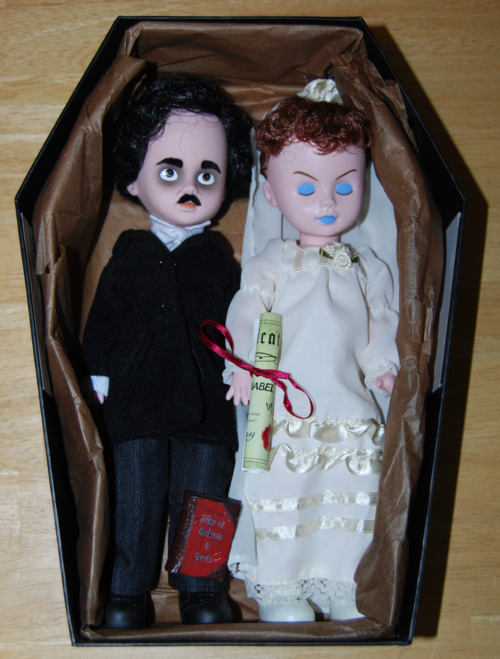 Living dead dolls poe & annabelle lee 3