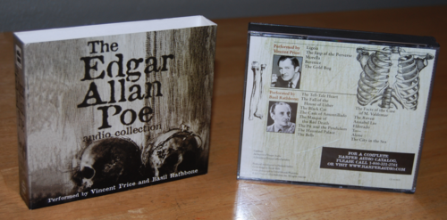 Edgar allen poe audio collection cd x
