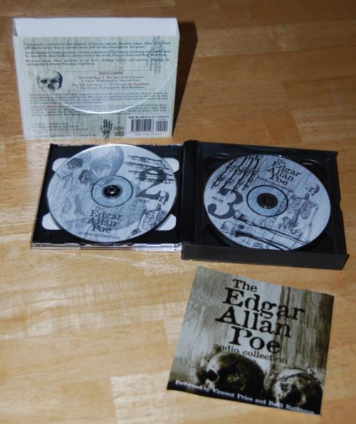Edgar allen poe audio collection cd