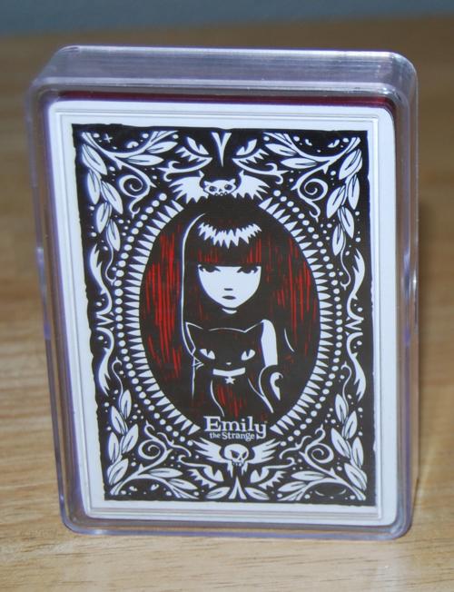 Emily strange playing cards