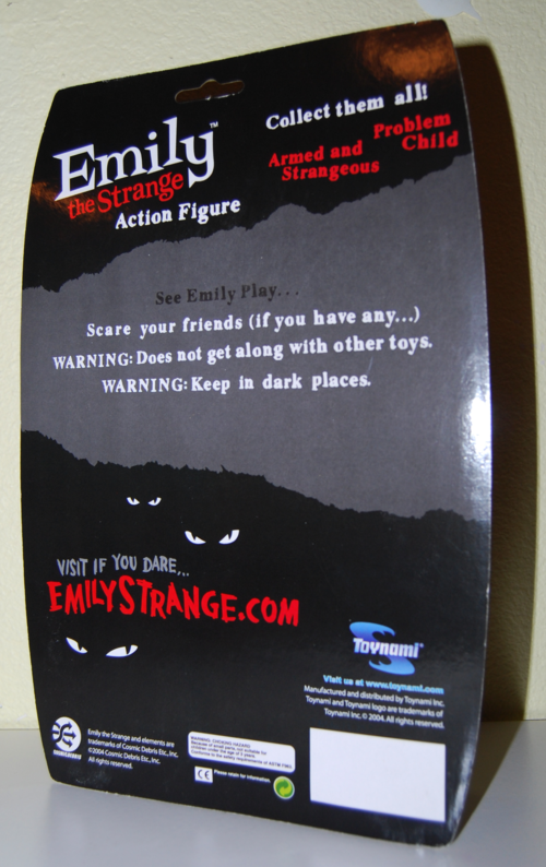 Emily the strange action figures x