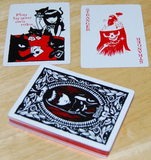 Emily strange playing cards 4