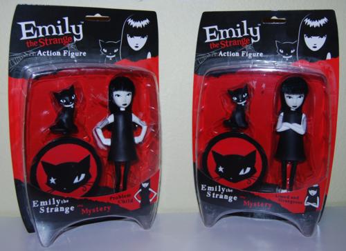 Emily the strange action figures